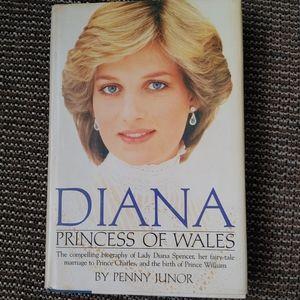 Vintage Diana Princess of Wales biography book